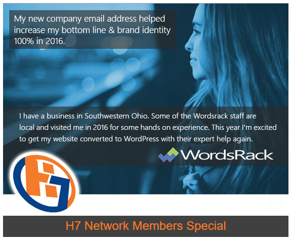 H7 Members Business Email Special