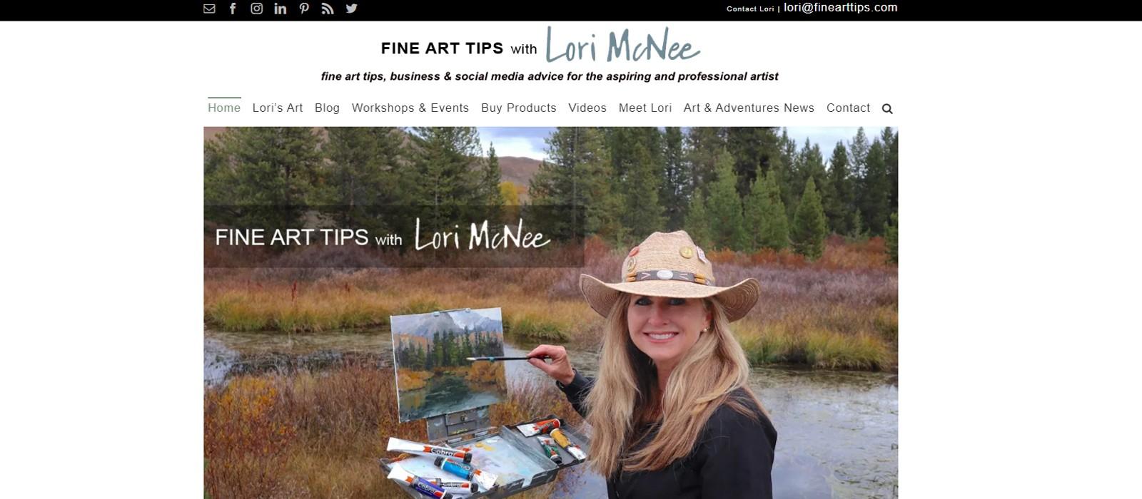 Fine Art Tips – Lori McNee